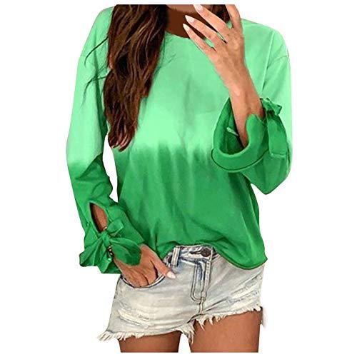 Pistaz Womens Long Sleeve Casual Color Block Long Sleeve Tops Shirt Tunic Lightweight Loose Hooded Sweatshirt Zip Oversized Sweatshirt