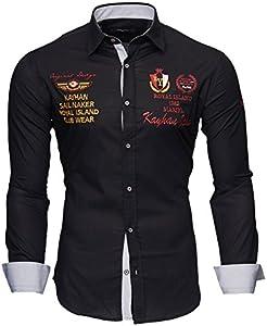 Kayhan Hombre Camisa Monaco Black M