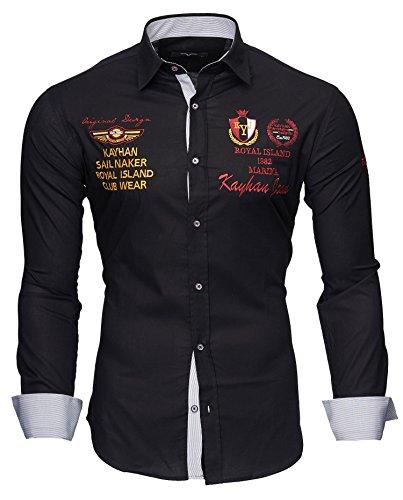 Kayhan Hombre Camisa Monaco Black S