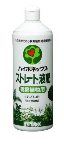 ハイポネックス ストレート液肥 観葉植物用 600ml