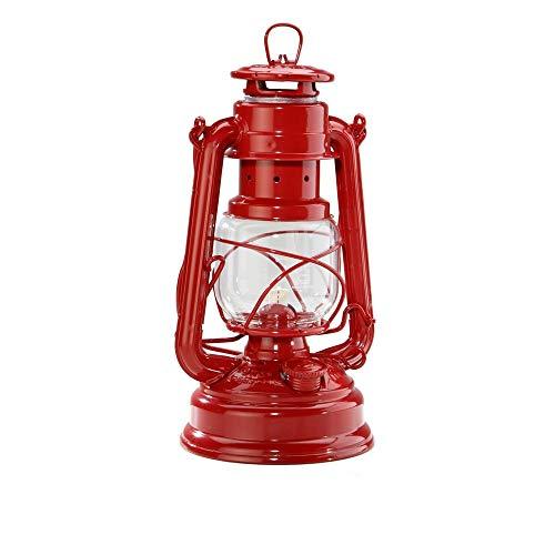 Raelf Vintage Pferde Laterne Kronleuchter Hurrikan Laterne-Traditioneller Brennstoff Anthrazit, Kerosin oder Öllampen.Europäisches Retro Petroleumlampe Camping Lampe Ware Petroleumlampe Windlicht