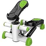 MGIZLJJ Máquinas de Step Mini de pasos de ejercicio físico con entrenador antideslizante del pedal y magnético ajustable Pantalla HD Resistencia Efectivamente Apretar y ajustar los músculos de la pant