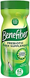 Benefiber Daily Prebiotic Fiber Supplement Powder for Digestive Health, Daily Fiber Powder, Unflavor