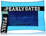 [パーリーゲイツ] PVC素材 クリアー クラッチバッグ 053-9181602 110_ブルー