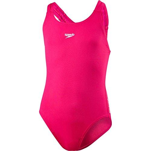 Speedo Mädchen Essential Endurance+ Medalist Swimwear, Rosa, 32 (13-14 Years)