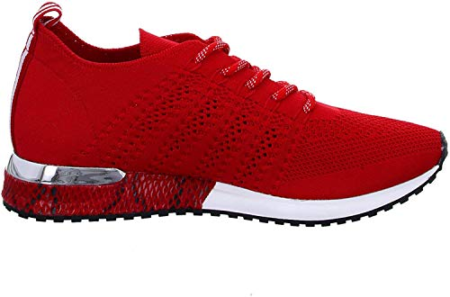 La Strada 1802649 Sneaker Red Knitted 38