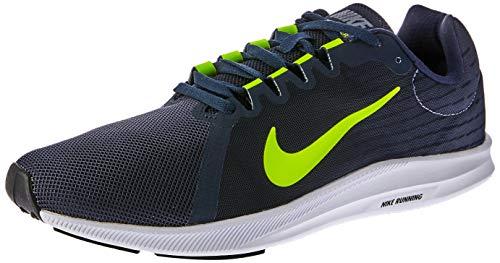 Nike Downshifter 8, Zapatillas de Entrenamiento para Hombre, Gris (Light Carbon/Volt-Obsidian-Black 007), 40 EU
