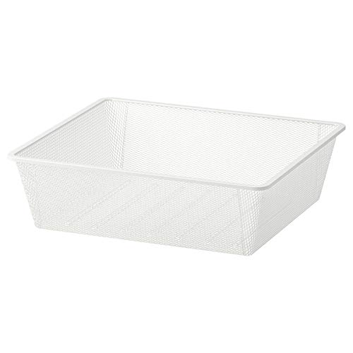 Tok Mark Traders JONAXEL - Cesta de malla (50 x 51 x 15 cm), color blanco