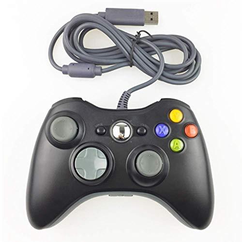 Gamepad für PC im Xbox Design - Controller kabelgebunden - hochwertige Analogsticks - geringe Deadzone – hohe Reaktionsgeschwindigkeit - Dual Vibration Feedback – Gummierung für sicheren Grip,A