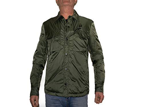 Blauer Giubbini Corti Imbottito Ovatta Giacca Sportiva, Verde (Verde OLIVASTRO 694), Small (Taglia Produttore:S) Uomo