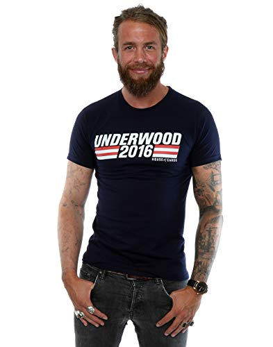 House Of Cards hombre Underwood 2016 Campaign Camiseta XXX-Large...
