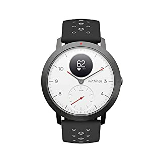 Withings Steel HR Sport Reloj Inteligente Híbrido, Unisex Adulto, Blanco, 40 mm (B07GXR9V19) | Amazon price tracker / tracking, Amazon price history charts, Amazon price watches, Amazon price drop alerts