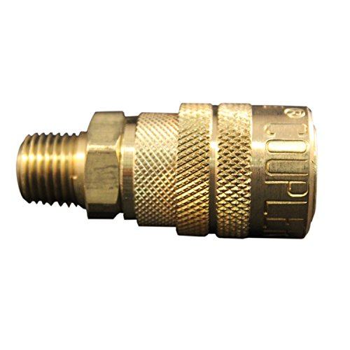 Milton (716) 1/4 Male NPT M Style (Industrial) Air fitting Quick Connect Coupler - Box of 10