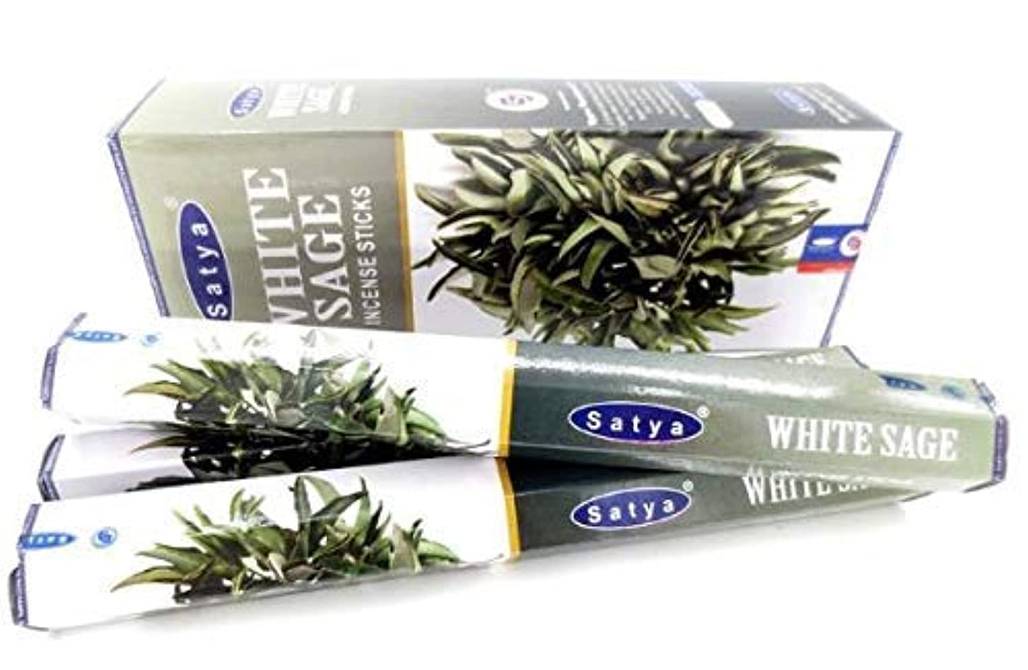 雪だるまを作るスポンジ縫うWhite Sage Incense Sticks   6 Packs x 20 Sticks   Box of 120 Sticks   Export Quality