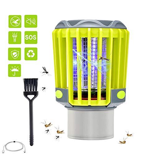 WHCCL 3-in-1 USB-lamp tegen muggen, uv-ledlamp, muggenlamp, elektrische lage muggenlamp voor binnenshuis