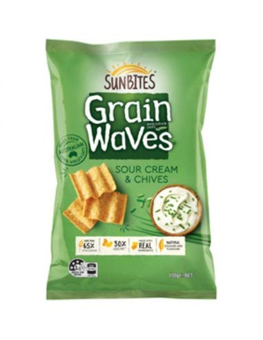 Grainwavesサワークリームとチャイブ170g
