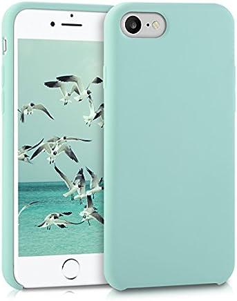 "kwmobile 40225.71 Funda para teléfono móvil 11,9 cm (4.7"") Funda Blanda Color Menta - Fundas para teléfonos móviles (Funda Blanda, Apple, iPhone 7/8, 11,9 cm (4.7""), Color Menta)"