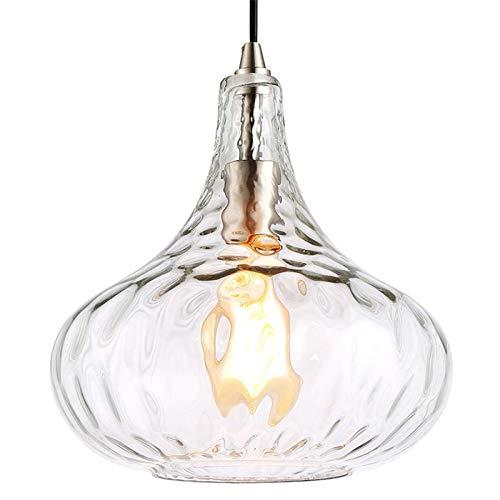 Pendelleuchte Weinglas-Kronleuchter im nordischen Stil Restaurant Schlafzimmer Bar Dekorative Lampe 27x27x31cm