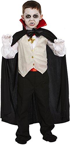 Disfraz de DrÁCula ClÁSico Para NiÑO, Varias Tallas de 4 a 12 AÑOs