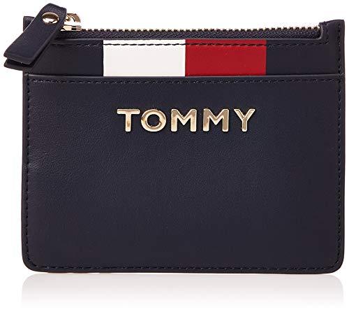 Tommy Hilfiger TH Corporate Mini CC Wallet, Portafoglio Donna, Blu (Tommy Navy), 1x1x1 centimeters (W x H x L)
