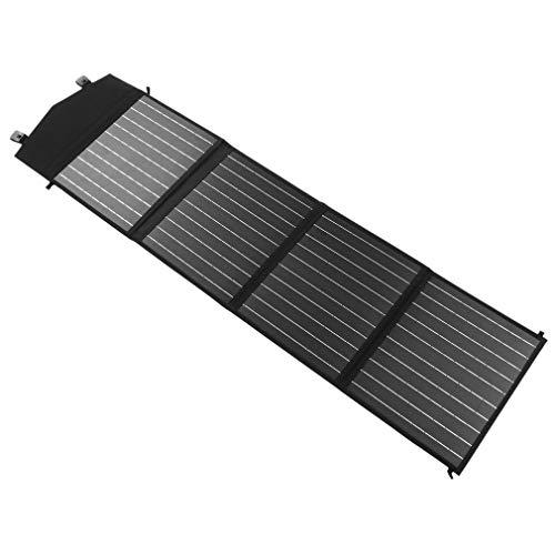 60W Monokristallines SolarModul 18V Panel Mono Solarzelle Photovoltaik Faltbares monokristallinem Back-Contact-Zellen-Panel Solamodule für Boot Auto Camping Wandern Mobiltelefon Outdoor-Ladegerät