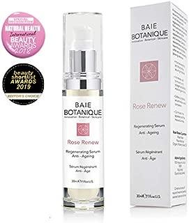 Anti-Aging Face Serum 30ml - Hyaluronic Acid, Rosewater, Rose Absolute, Rosehip Seed Oil, Glycolic Acid - Award Winning - 98% Natural 80% Organic (aa)