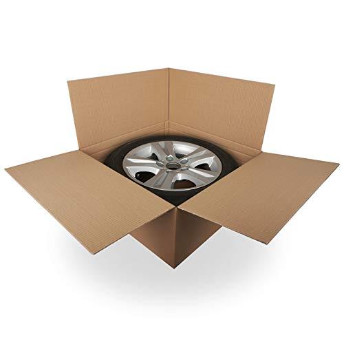 KK Verpackungen® Reifenkarton | 4 Stück, 15-19