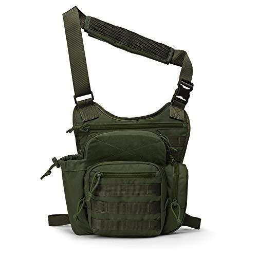 Mardingtop Tactical Sling Bag Military Gear Shoulder Backpack for Concealed Carry