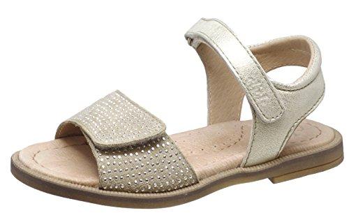 Clic! Sandalen CP- 8984 DE mit Steinchen, Mädchen (33 EU, Sand)