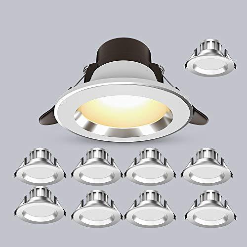 Hines Foco De Interior LED De 10 Luces 3W / 5W Creativity Downlight Aluminio Empotrable Down Light Luces De Techo Retro Nórdicas Lámpara De Panel De Isla para Comedor Foco De Escritorio Frontal