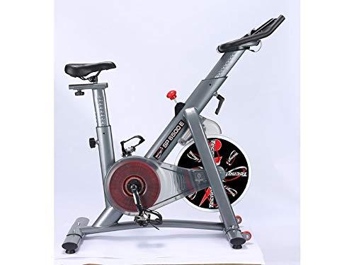 TECNOFIT Indoor Cycling Professionale Sp6500 Professional Volano 24 kg Black Bletooth App I Bike Kinomap
