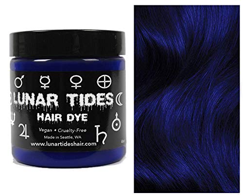 Lunar Tides Haarfärbemittel Semipermanenter Haarfarbstoff Blue Velvet Blau