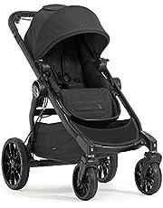 Baby Jogger City Select LUX wózek dziecięcy, prosty do podwójny, składany i przenośny, granit (ciemnoszary)