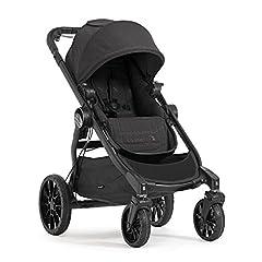 Baby Jogger City Select LUX Poussette | simple à double | Repliable et portable | Granite (gris foncé)
