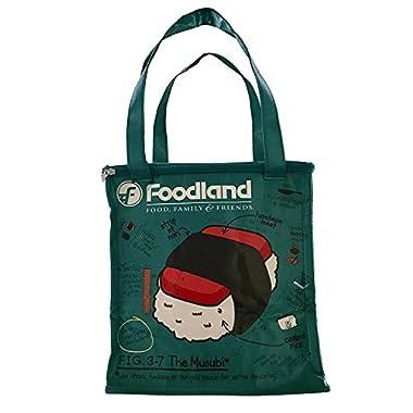 Foodland Hawaii Spam Musubi Insulated Reusable Eco Shopping Bag Tote