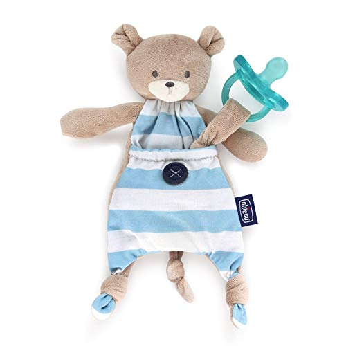 Chicco 00008012200000 Pocket Friend, Boy (Bär), blau