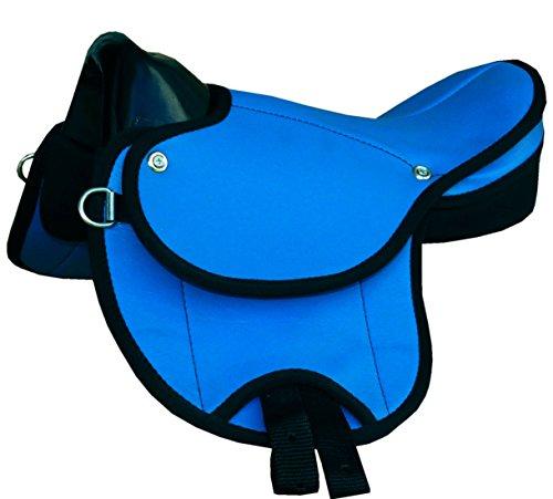 Reitsport Amesbichler Pony-Shettysattel Little Emily-auch für Holzpferde geeignet- blau TOP Ausführung Shettysattel Ponysattel