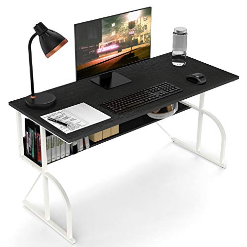 Famree'Computer Desk 39'' Writing Table for Home Office Study Work, Simple Desk Style PC Laptop Notebook Workstation'