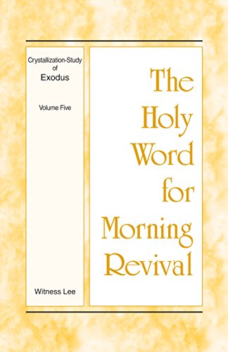 B4W Book] Free Download The Holy Word for Morning Revival