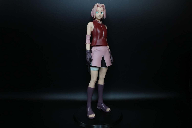 MICOKID Naruto Haruno Sakura GK Static 3D Super-cheap Doll Kansas City Mall Ornaments Statue
