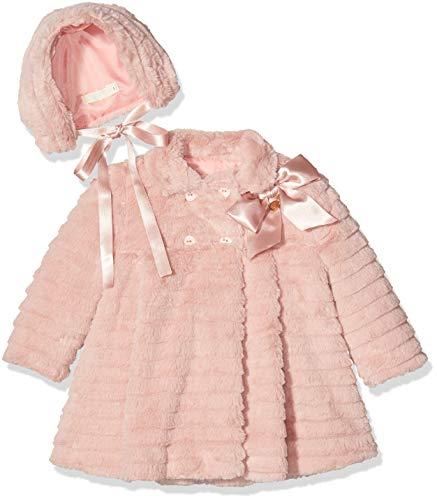 Rigans Abrigo Pelo BB Paris, Rosa (Rosa 494), 74 (Tamaño del Fabricante:1) para Bebés