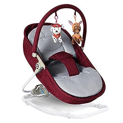 VIVIANSHOP Nueva Silla de bebé bebé Cuna Silla coaxia bebé Cuna bebé Mecedora Silla Manual Mecedora Red
