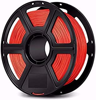 WOL 3D Flashforge PLA 3D Printer Filament - 1.75mm, Red