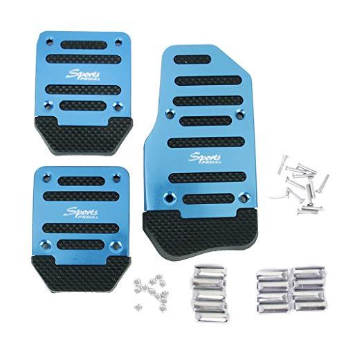 Shiwaki Pastillas De Pedal De Embrague De Freno Antideslizante De Transmisión Manual Azul