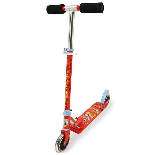 Smoby 450173 - Cars Roller mit Bremse, klappbar