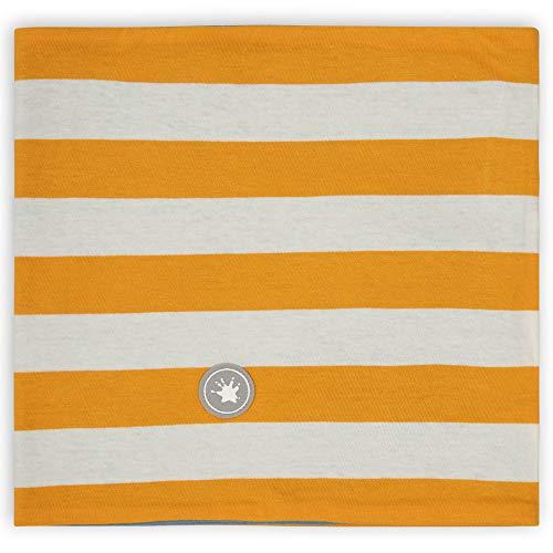 Sigikid Jungen Mini Wende Loopschal aus Bio-Baumwolle für Kinder wendbarer Loop-Schal, Blau/Orange, Einheitsgröße