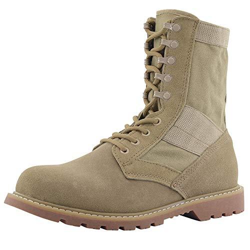 shoes Lente en herfst zomer heren ademende tactische laarzen Desert Boots, 36-46 outdoor wandelschoenen