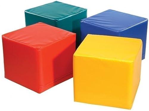 1 x P  Spiel- und Sitzwürfel 'gelb' - Kantenl e  45cm - H   50cm