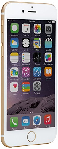 Apple iPhone 6 Smartphone (4,7 Inch (11,9 cm) Touch-Display, 64Memory) , Color:Gold (Gold), Capacity 64GB (Reacondicionado)