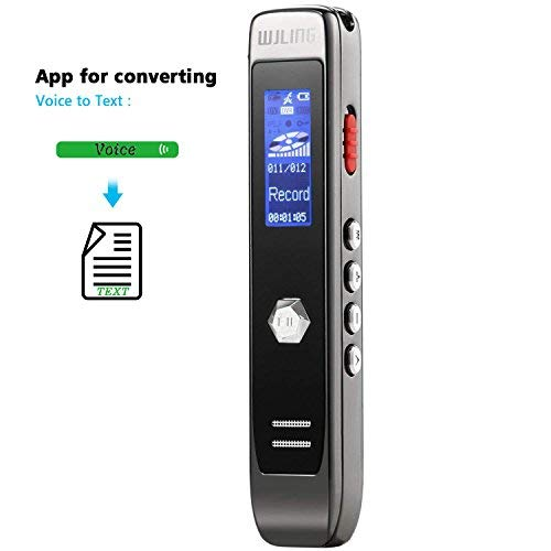 Voice Recorder, Audio transcribe APP, 8GB Compact USB Audio Voice...